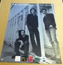 The Jayhawks 2003 Retail Promo Poster for Rainy Day Music Cd Never Displayed