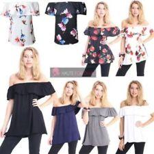 Maglie e camicie da donna camicetta viscosa senza marca