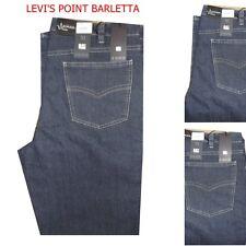 jeans taglie forti uomo elasticizzato lui collection blu taglia  51 59 65 67 69
