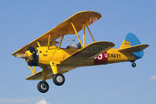 "Model Airplane Plans (UC): Stearman PT-17 Kadet Scale 48""ws for .35 Engine"