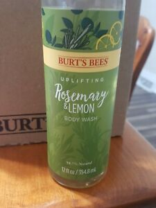 3 Pack Rosemary and Lemon Body Wash by Burts Bees for Unisex - 12 oz Body Wash