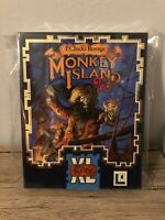MONKEY ISLAND 2 COMMODORE AMIGA COMPLETE 100% LUCASARTS PERFECT