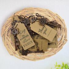 60Pcs Wedding Key Bottle Opener Skeleton Xmas Party Rustic Decor Gifts  y ^ ❀ ✯