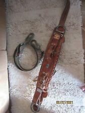 Bashlin 88 Lineman Climbing Belt & Safety Strap Lanyard D26