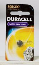 NEW! Duracell 395/399 Button Coin Battery Silver Oxide 1.5volt Watch Calculator