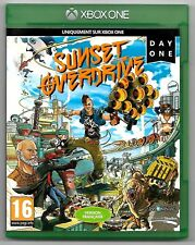 SUNSET OVERDRIVE DAY ONE EDITION / Jeu XBOX ONE / TBE