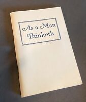 As a Man Thinketh James Allen Vintage Paperback Booklet LDS Mormon