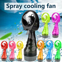 Portable Hand-held Cooling Cooler Fan Water Spray Misting Bottle Travel Beach AU