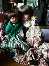 Drei liebe Puppenmädchen