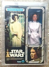 "TOY STAR WARS AFA 95 PRINCESS LEIA ORGANA DOLL 12"" MINT KENNER 1978"