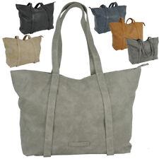 Damen Handtasche Shopper groß Schultertasche Arbeit Büro in 6 Farben A4++