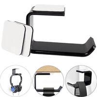 Acrylic Headphone Stand Hanger Hook Tape Under Desk Dual Headset Mount Holder CN