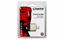 Kingston Technology Mobilelite G4 USB 3.0 negro