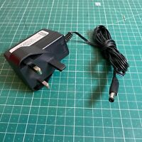 DVE 12V 1A Mains DC Adapter Wall Charger Type A: 5.5mm OD, 2.1mm ID