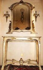 Tavolo specchio console credenza MIRROR Table Art Deco Nouveau Biedermann Meier