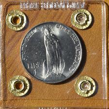 CITTA' DEL VATICANO PIO XI 1 LIRA 1936 sigillata FDC SUBALPINA