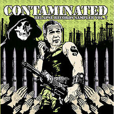 Contaminated Vol. 7 CD mastodon NILE unsane ORIGIN pig destroyer ZEKE zombi