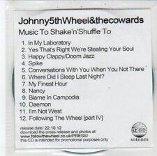 (DC296) Johnny 5th Wheel & The Cowards, Music to Shake n Shuffle to - 2012 DJ CD