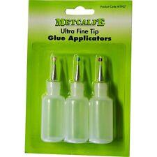 Metcalfe - MT907 - Ultra Fine Glue Applicator Bottles - SUITABLE FOR OO /N GAUGE