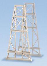 Ratio 242 - 2 x 61mm x 125mm x 12mm Steel Trestles - 'N' Gauge Plastic Kit 1stPo