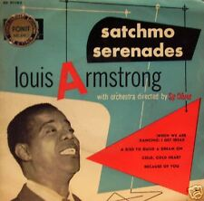 "Louis Armstrong - Satchmo serenades 45"" EP 4 tracks"