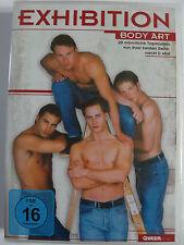 Exhibition - Body Art - 20 männliche Topmodels nackt + wild - Gay Strip Erotik