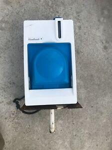 EBERSPACHER HAND WASH BASIN HOT AND COLD CAMPER VAN UTILITY VAN ECT