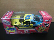 Darrell Bubba Wallace Jr. 2015 SpongeBob SQUAREPANTS Ford Mustang 1/64 NASCAR