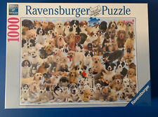 New Sealed. Ravensburger 1000 Piece Jigsaw Puzzle Dogs Galore Puppies
