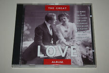 THE GREAT LOVE ALBUM- GOLDIES!!! Made in Portugal, CD, 1993!!!