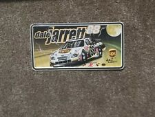 Dale Jarrett #88 UPS NASCAR Metal License Plate New