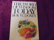 The Word Of Wisdom Today by Roy W. Doxey   Books Deseret Books