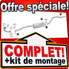 Échappement KIA SPORTAGE I 2.0 95/128CH 4WD 5-portes 94-96 +Tuyau Silencieux D77
