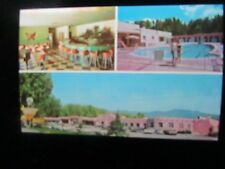 POSTCARD. 3-VIEW,  KACHINA LODGE AND MOTEL, TAOS, NEW MEXICO