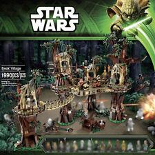 Star Wars Ewok Village Building Blocks Toys Compatible LEGO 10236 05047 1990PCS