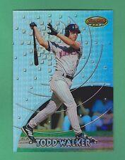 1997 Bowman's Best Refractor Todd Walker Minnesota Twins #BBP13 (KCR)