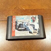 NEWMAN HAAS INDYCAR FEATURING NIGEL MANSELL ~1994 Sega Genesis Racing Video Game