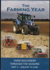 DVD: THE FARMING YEAR: Farm machinery through the seasons part 1 - Jan to June