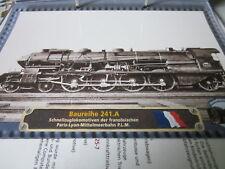 Lokarchiv a máquinas de vapor 662 francia br 241.a Paris Lyon mediterráneos Bahn 1925