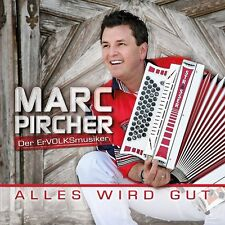 Marc Pircher - Alles wird gut / 14 Track CD Album wie Neu