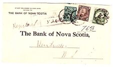 Canada:1931 regist. cover PICTOU (N. S.) - KENTVILLE(can) Sc# 163, 166, 173