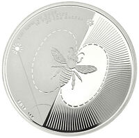 SILVER BEE PROOF-LIKE | SILBERMÜNZE BIENE 2019 1 OZ 9999 AG BULLION LGM COIN