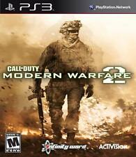 Call Of Duty: Modern Warfare 2 For PlayStation 3 PS3 COD Strategy Very Good 3E