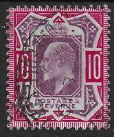 SG311.  10d.Dull Reddish Purple & Carmine. VFU With Fresh Colour.  Ref:0749