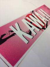 KAWAII stardust sparkle JDM slap CAR STICKER jdm drift car sticker decal