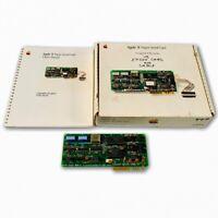 1981 Apple II Super Serial Card A2B0044 for II, II Plus & IIe w/ Box and Manual