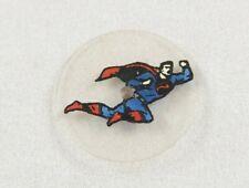 Superman Center Seconds Disc Part Vintage 1960's Bradley Superman Watch Flying