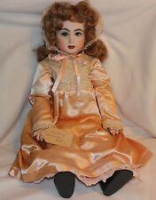 1981 Repro Bebe French Bru JNE13 Casmir Circa 1875 Bisque Victorian Doll 25