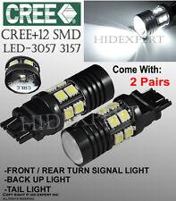 TMZ 4x Cree 12SMD LED Projector 6000K White 3156 3157 Stop Light Backup etc D3