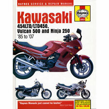 Kawasaki 454LTD LTD450 Vulcan 500 Ninja 250 1985-2007 Haynes Workshop Manual